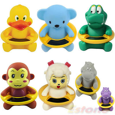 Cute Animal Shape Thermometer Baby Infant Bath Tub Water Temperature Tester Toy