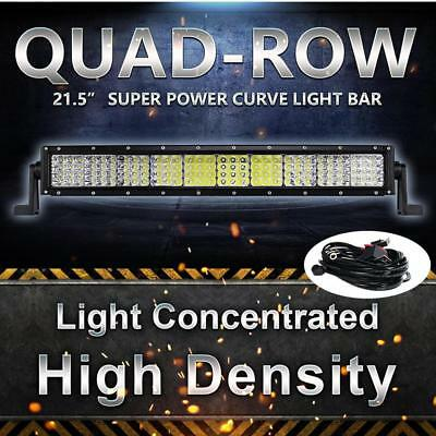 210w 20inch CREE Spot Flood Combo Led Work Light Bar Mine Driving Car Lamp 480w