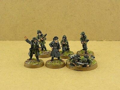 28mm painted German Grenadier Command Squad G004