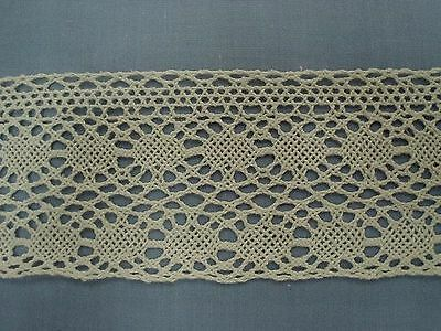 65mm CreamCotton Cluny Lace
