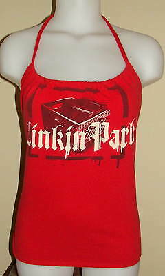 Linkin Park Reconstructed Concert Tour Shirt Halter Top DiY