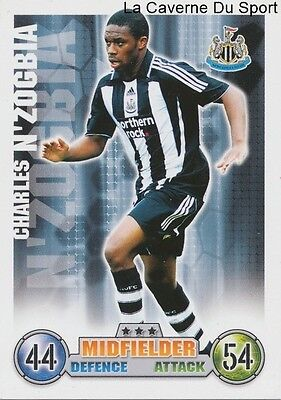 Charles N'zogbia # France Newcastle United.fc Card Premier League 2008 Topps