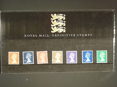 GREAT BRITAIN - 1990 MACHINS TO 33p PRESENTATION PACK No.22
