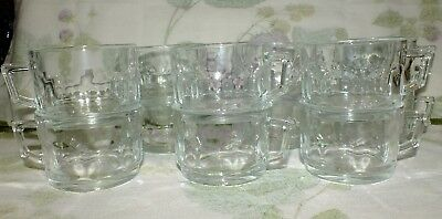 CRISTAL  D'ARQUES ARCOROC PETALE France PUNCH CUP (12) available PRICE FOR ONE