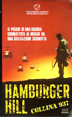 Hamburger Hill. Collina 937 (1987) - VHS Vestron 1a Ed.