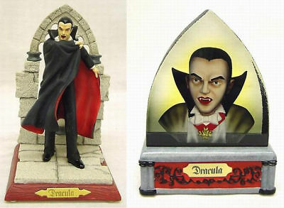 Universal Monsters Dracula Figural Statue & Tombstone
