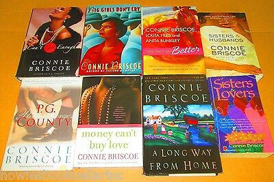 CONNIE BRISCOE (HARD & SOFTCOVER)-AFRICAN AMERICAN FICTION/ROMANCE Lot of 4