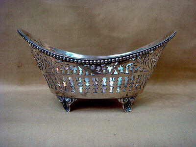Nice Antique Sterling Silver Small Centerpiece Bowl 157 Grams.