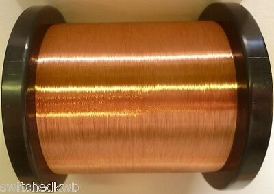 37Awg - Enamelled Copper Winding Wire, Magnet Wire, Coil Wire -250G