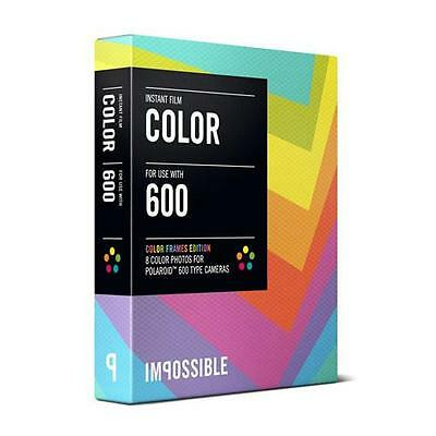 Impossible Color Film for Polaroid 600-Type Cameras with Color Frame #2959