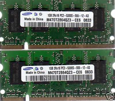 2x2GB 4GB Kit Memory RAM Upgrade for Sony VAIO VGN-NR330 VGN-NR385E//W