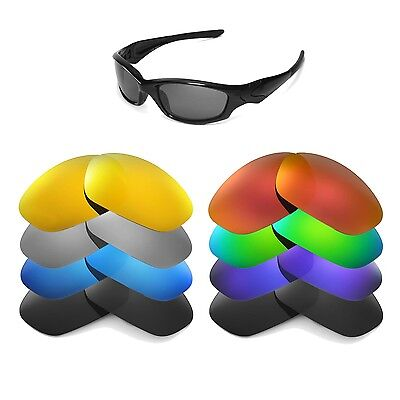 Walleva Replacement Lenses for Oakley Straight Jacket - Multiple Options