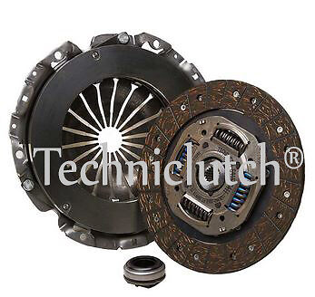 3 Piece Clutch Kit And Bearing For Citroen Dispatch 1.6 Hdi 90
