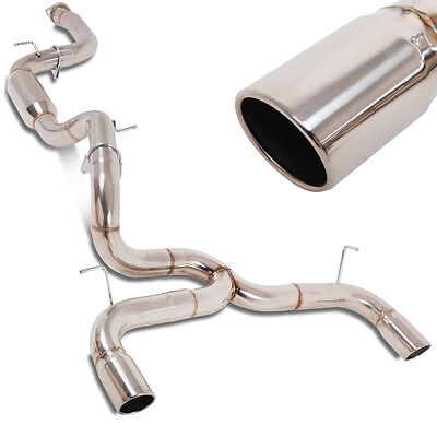 Direnza Ford Focus Mk 2 Rs St 2.5 09-11 Stainless Steel Cat Back Exhaust System