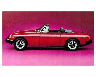 1977 1978 ? MG MGB Automobile Photo Poster zca1779