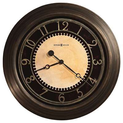 Howard Miller Chadwick Wall Clock, antique brushed brass - 625462