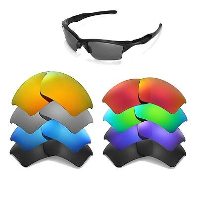 Walleva Replacement Lenses for Oakley Half Jacket 2.0 XL -Multiple Options