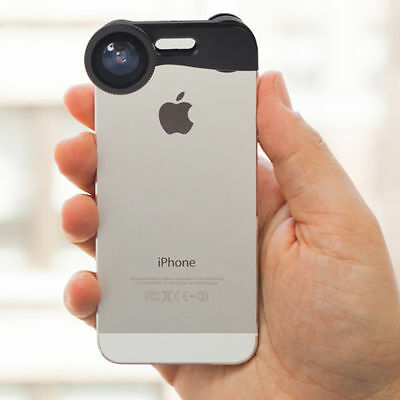 3 in 1 Fish eye + Wide Angle + Macro Camera Photo Zoom Lens Kit for iPhone 5 5s