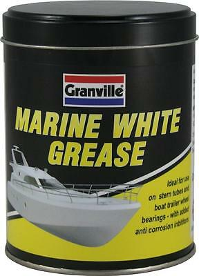 White Marine Grease  500g Tin Waterproof & Resistant to Salt Water 2750
