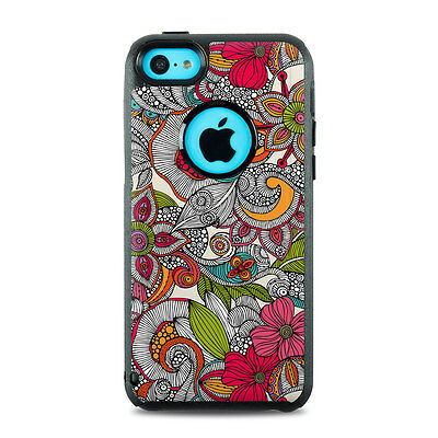 Skin for Otterbox iPhone 5C - Doodles Color by Valentina Ramos - Sticker Decal