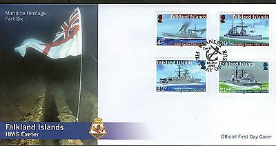 Falkland Islands Fdc 2009 Maritime Heritage Part 6