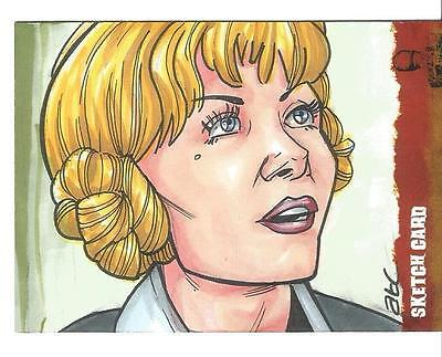 The Wicker Man Sketch Card created by ATC Adam Cleveland [ 3 ]