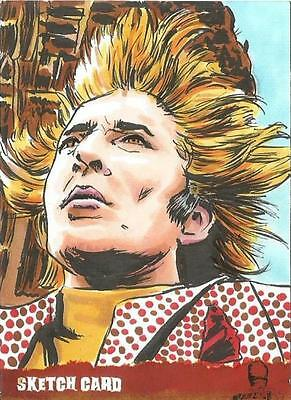 The Wicker Man Sketch Card created by Matthew Parmenter [ 3 ]