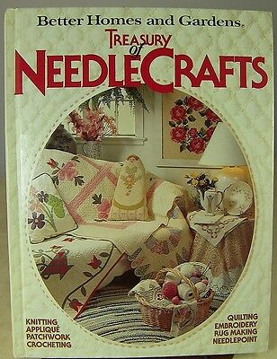 A TREASURY of NEEDLECRAFTS by BETTER HOMES & GARDENS 480 pages hardback 1982