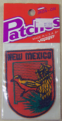 Voyager Patch Emblem New Mexico Travel Souvenir Iron On Badge Nip