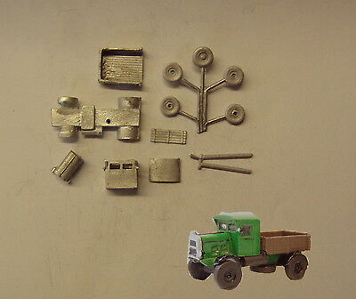 P&D Marsh N Gauge n Scale G37 Scammell Rigid 4 openback lorry kit requires paint