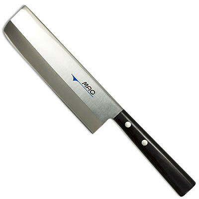 "MAC JU-65 Japanese Series 6.5"" Veg Cleaver Knife/Silver Molybdenum steel/Japan"