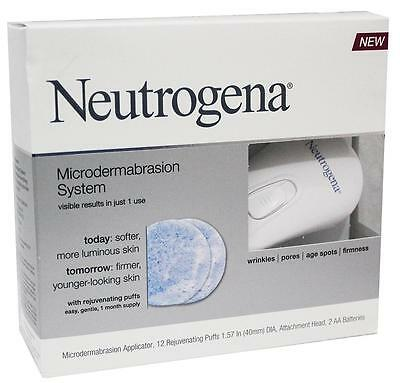 Neutrogena Microdermabrasion System - For Wrinkle Pores Age Spots & Firmness!