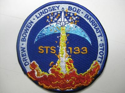 U.s. Raumfahrt Nasa Space Aufnäher Patch Sts-133 Iss Mission