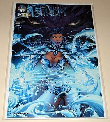 FATHOM # 1  Aspen Comic  2005    VFN/NM   Michael Turner