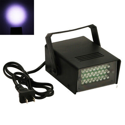 24 LED Strobe Lights DJ Disco Operated Party Stage Lighting Effect Light 3W