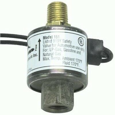 AFC-151R Advanced Fuel Components Solenoid Shut Lock Off Valve Model 12 VOLT