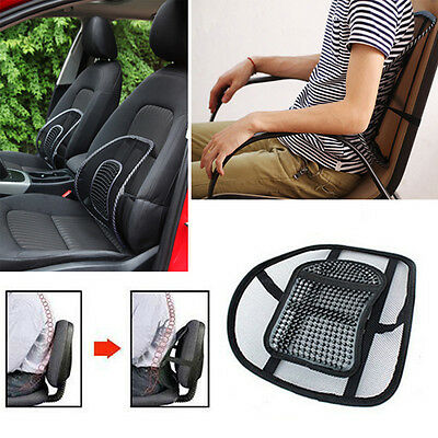 Confortable Car Seat Office Chair Massage Back Mesh lumbar support Cushion pad