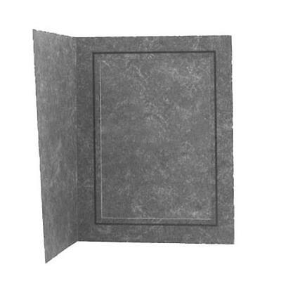 Adorama Picture Folder Frame, Black Marble with Inner Gold Border, 100 Box
