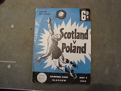 Scotland v Poland May 1960