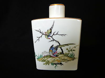 Superb Limoges Flask by L Bernardaud and Co.  Exc. Cond.