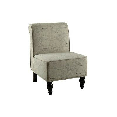 Monarch Specialties Vintage French Fabric Traditional Accent Chair - I8123