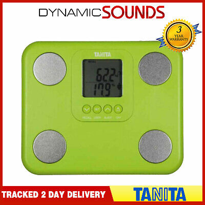 Tanita BC-730 Fat Mass Green Weighing Scales Innerscan Body Composition Monitor