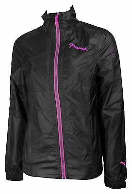 Puma Active Nylon Ladies Running Jacket - Black