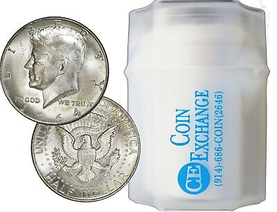Roll Of 20 $10 Face 90% Silver 1964 Kennedy Half Dollars Full Dates