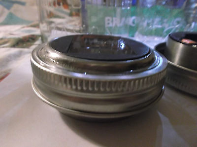 Solar Lid Light for Mason jar lights turns on automatically  Hot New Item
