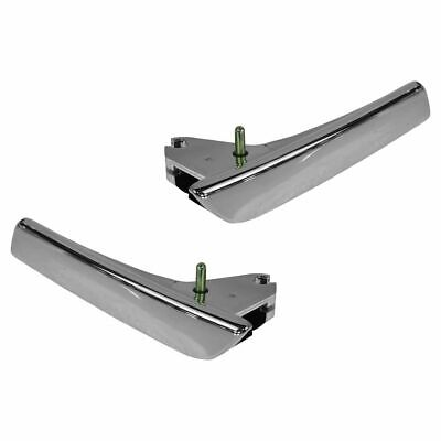 OEM Door Pull Handle Left Right Pair Chrome Front or Rear Interior for Chevy GMC