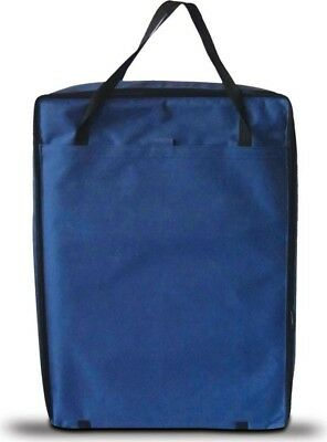 OLPro Soft Nylon Padded 17in - 22in TV Storage Bag and Pocket - OL637 / Blue