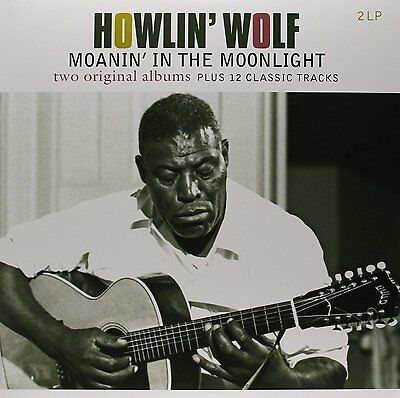 Howlin' Wolf MOANIN IN THE MOONLIGHT / SELF TITLED 180g NEW Vinyl Passion 2 LP