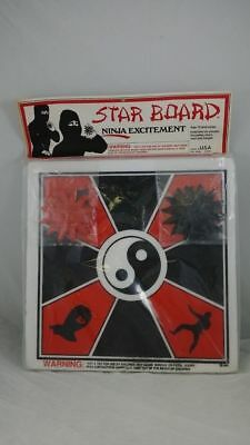 Rare Ninja Throwing Star Foam Board Collectible - ADULTS ONLY - NOT FOR CHILDREN