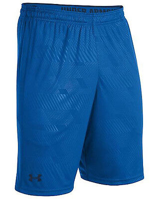 under armour ua heatgear mens micro shorts scatter blue small